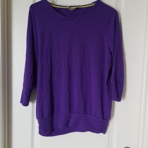 Grape purple Athleta top